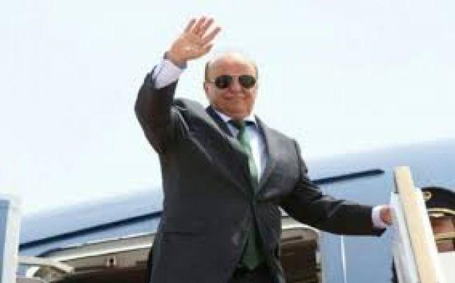 رئيس الجمهورية يصل سيئون لترأس جلسة مجلس النواب غير الإعتيادية