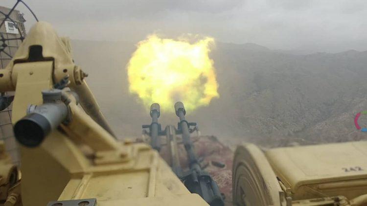 مقتل وإصابة 45 حوثيا بمواجهات عنيفة مع قوات الجيش في جبهة حمك بالضالع