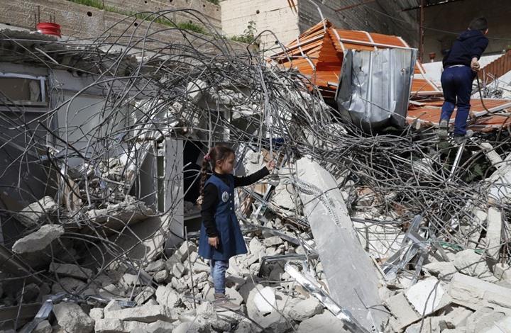 الاحتلال الأسرائيلي يهدم عشرات المنازل المملوكة للمقدسيين في سلوان