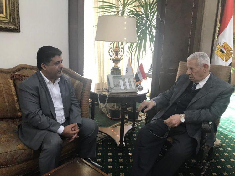 رئيس هيئة الإعلام المصري يستقبل الشيخ العيسي