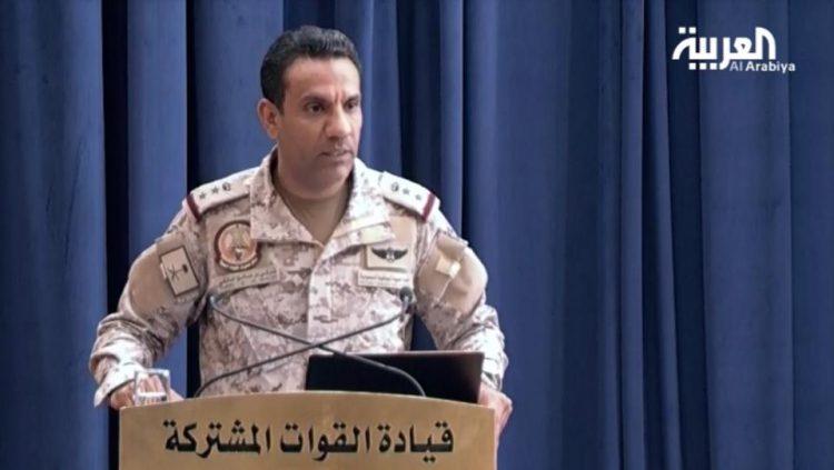 """التحالف ينفذ عملية عسكرية نوعية ضد أهداف حوثية """"مشروعة"""" في صنعاء"""