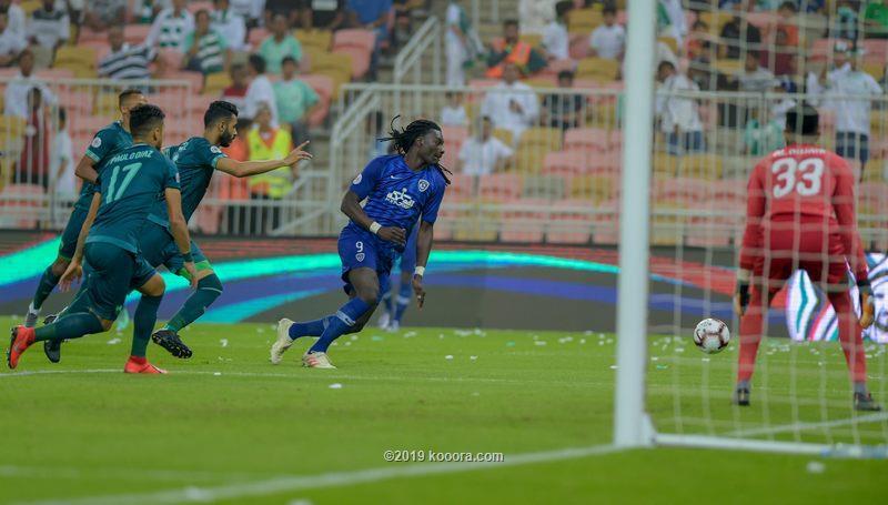 الهلال يتجاوز الاهلي ويتأهل إلى نهائي كأس زايد للأندية الابطال