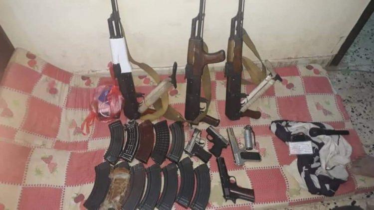 ضبط عصابة مكونة من خمسة اشخاص تتقطع للمواطنين شمالي العاصمة عدن
