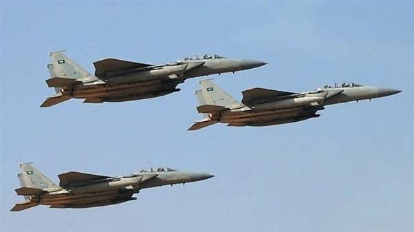 التحالف العربي يشن غارات على مواقع الحوثيين ومصرع وجرح عدد من عناصر المليشيا في الضالع
