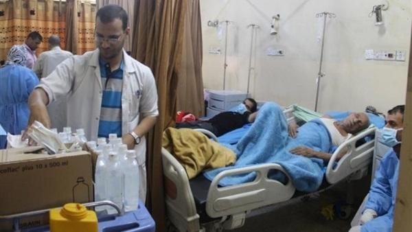 وفاة 44 شخصا وارتفاع الحالات المشتبه إصابتها بالكوليرا إلى 10 آلاف حالة في تعز