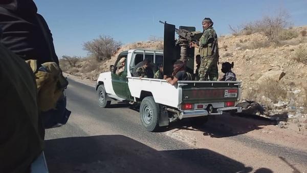 الضالع: الجيش الوطني يستعيد السيطرة على مناطق في مديرية قعطبة