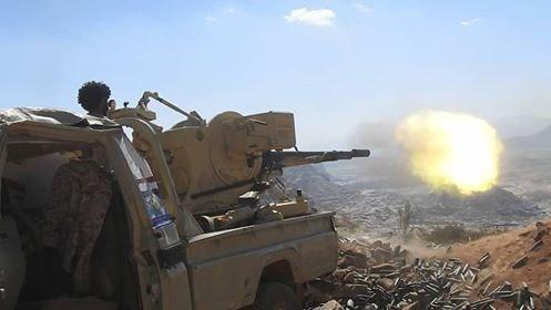 قوات الجيش الوطني تصد هجوما لمليشيا الحوثي وتكبدها خسائر فادحة جنوبي تعز