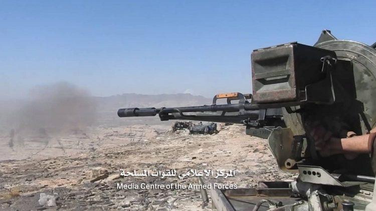 قوات الجيش تصد هجوما لمليشيا الحوثي في مديرية باقم بصعدة