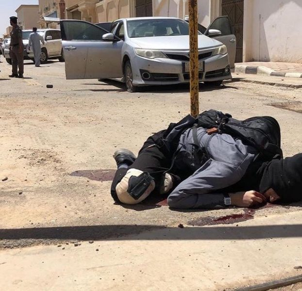 """السعودية.. احباط هجوم ارهابي استهدف مركز مباحث #الزلفي شمال الرياض """"صور"""""""