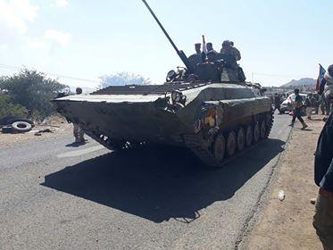 الجيش الوطني يشن هجوم واسع على مواقع المليشيا في الضالع