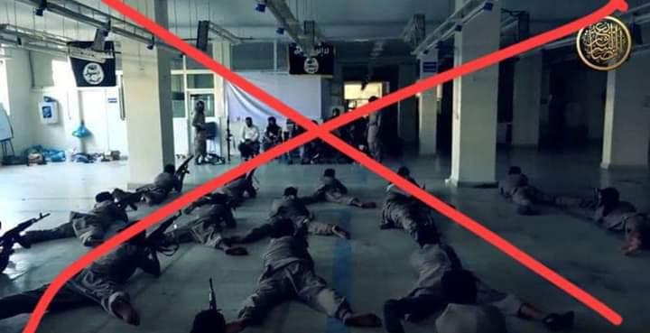 تدريبات قناصة الجماعات الارهابية في تعز.. صورة تكشف المخبأ وتظهر الحقائق