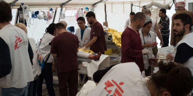 أطباء بلا حدود ترصد وفاة وفاة أكثر من 1500 طفل و36 من الأمهات بمحافظتي تعز وحجة