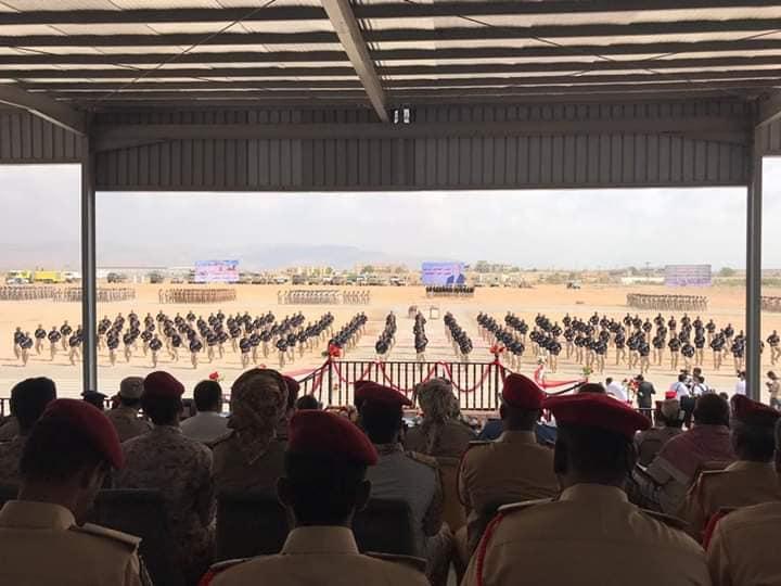 بالصور.. عرض عسكري وكرنفالي كبير بمناسبة الذكرى الثالثة لتحرير ساحل حضرموت