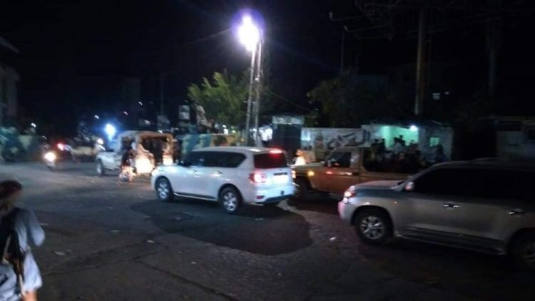 UAE-backed Abu Al-Abaas and his militias evacuate the city of Taiz
