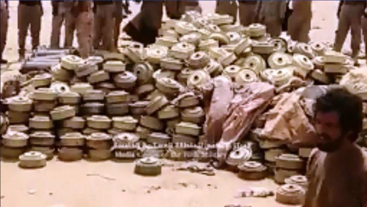فرق الجيش الهندسية تتلف آلاف الألغام والمتفجرات في حجة