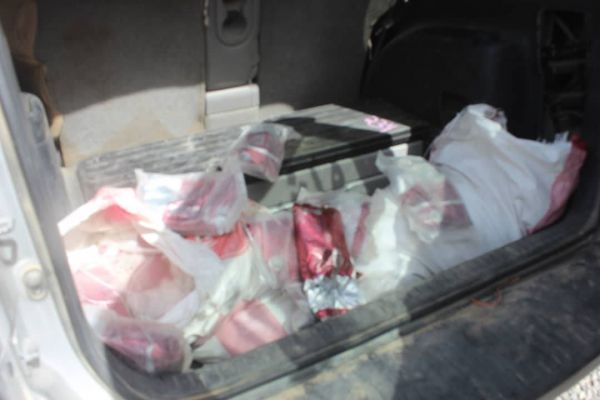أجهزة الأمن في مأرب تضبط 293 كيلو من الحشيش كانت في طريقها الى الحوثيين