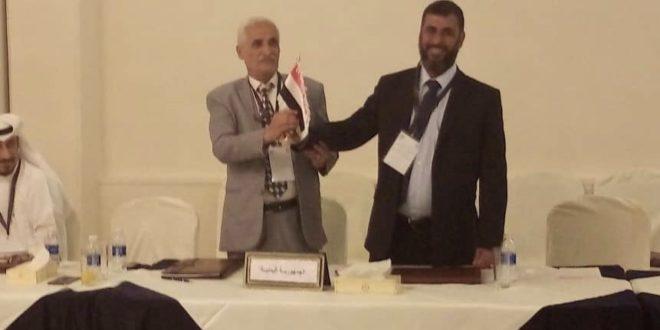 الجمعية العمومية للاتحاد العربي للصحافة الرياضية تصوت بالاجماع لاعتماد الاتحاد العام للاعلام الرياضي لتمثيل اليمن