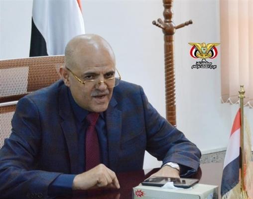 شمسان يوجه بإعداد جدول أعمال المشاريع الجديدة الممولة من الحكومة في تعز