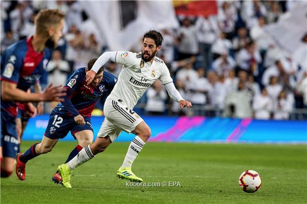 ريال مدريد يهزم هويسكا بصعوبة في الدوري الاسباني