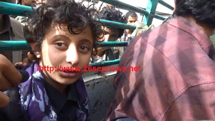 قصة مؤلمة من مئات القصص.. طفل أسير يروي كيف خطفته مليشيا الحوثي وزجت به في جبهة القتال
