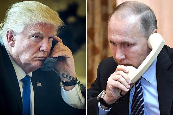 """في مكالمة استمرت ساعة.. بوتين وترامب يناقشان أمراً """"في غاية الخطورة"""""""