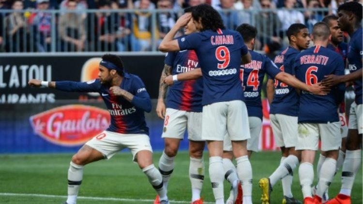 نيمار يقود سان جرمان للفوز على أنجيه في المرحلة السادسة والثلاثين من الدوري الفرنسي