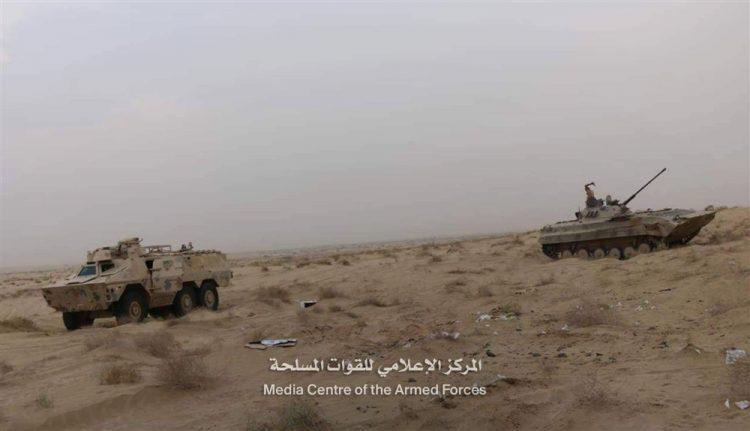 قوات الجيش الوطني تشن هجوما على مواقع المليشيا في الجوف وتسيطر على مواقع جديدة