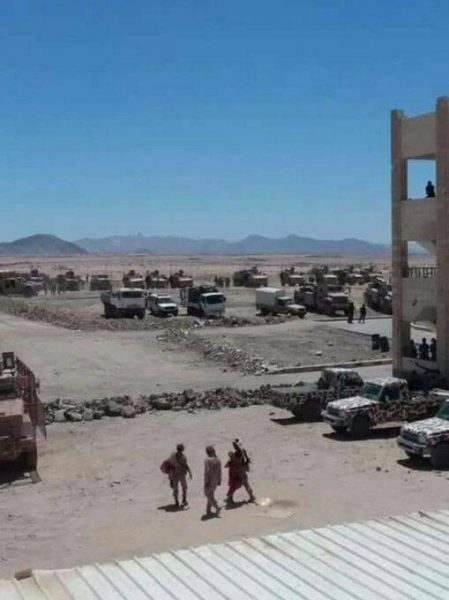 شبوة مليشيات مدعومة من الامارات تعمل على انشاء معسكر تدريبي جديد بعتق