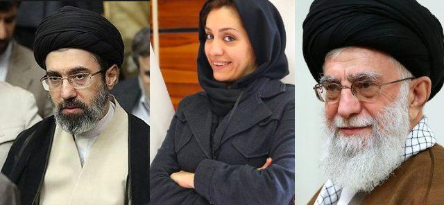 """قالت أنها ضحية لأعمال زوجها الإجرامية.. سيدة أعمال إيرانية تهدد """"بفضح"""" المرشد الإيراني ونجله"""