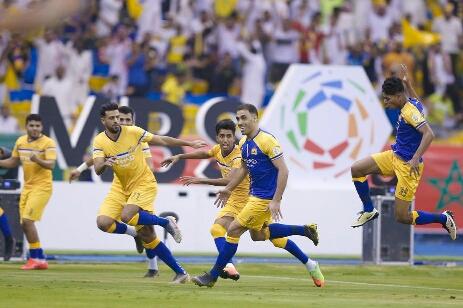 نادي النصر يتوج بطلا للدوري السعودي للمحترفين