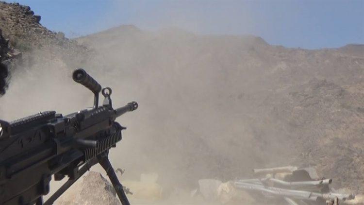قوات الجيش الوطني تصد هجوم لمليشيا الحوثي غرب تعز ومقتل 4 من عناصر المليشيا