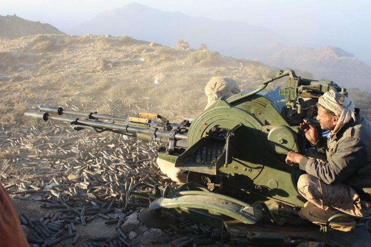 قوات الجيش الوطني تطرد المليشيات من مواقع جديدة في صعدة