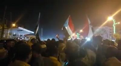 """المجلس الإنتقالي المدعوم إماراتيا يهتف ضد التحالف العربي """"فيديو"""""""