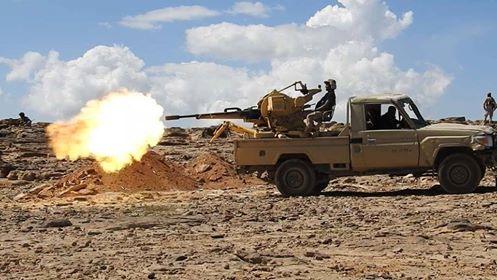 32 حوثيا يلقون مصرعهم بينهم قيادي بنيران قوات الجيش الوطني شمالي الضالع