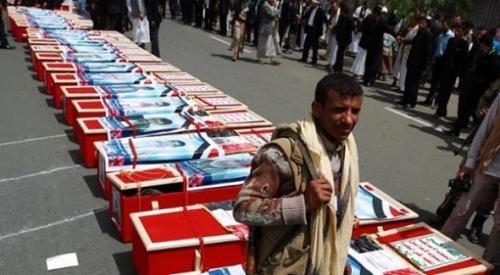 قادمين من جبهات الضالع وتعز.. عشرات القتلى والجرحى من عناصر الحوثي تكتظ بهم مستشفيات إب وصنعاء