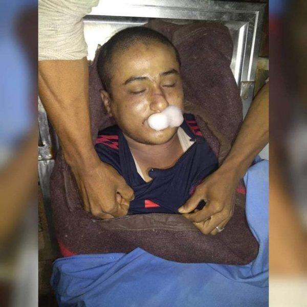 """بعد أنكارها للجريمة سابقاً.. مليشيا الحزام الأمني تعترف بقتل الشاب """"عمار سلطان"""" اثناء التعذيب (وثيقة)"""
