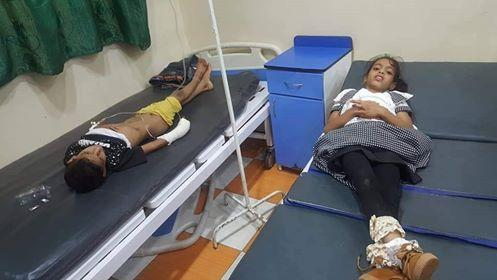 مقتل وإصابة 8 مدنيين في أول أيام العيد بقصف لمليشيا الحوثي على قرية بتعز