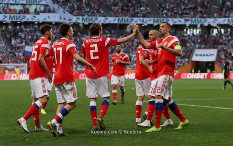 """يورو 2020: المنتخب الروسي يدك شباك سان مارينو بـ""""9″ أهداف نظيفة ويعتلي صدارة المجموعة التاسعة"""