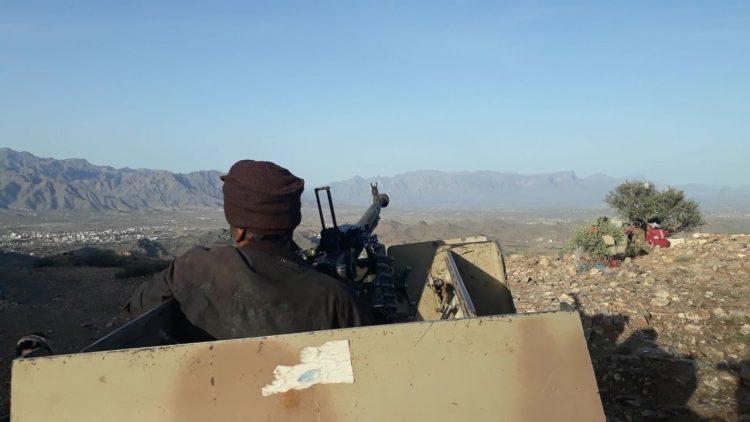 قوات الجيش الوطني تتمكن من تحرير عدد من المواقع الإستراتيجية في قعطبة بالضالع
