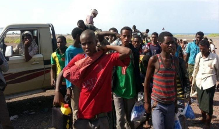 الهجرة الدولية تنقل أكثر من 1500 مهاجر إلى بلدانهم عبر مطار عدن