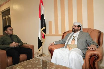 اللواء سلطان العرادة يستقبل رئيس مؤسسة التنمية للإعلام