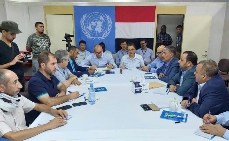 اللجنة المشتركة تنهي اجتماعاتها بإحالة ملفات الحديدة إلى المبعوث الأممي للبت فيها