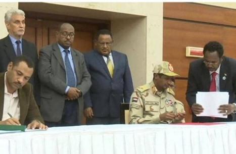 هكذا تم الاتفاق على تقاسم السلطة في السودان.. تفاصيل الاتفاق