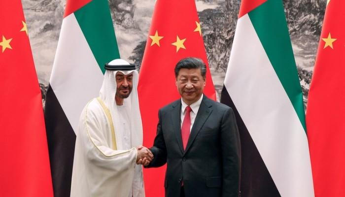 """""""بن زايد"""" يحاول اثارة قلق الصين ويطالبها بلعب دور أكثر لحماية الملاحة وإمدادات النفط"""