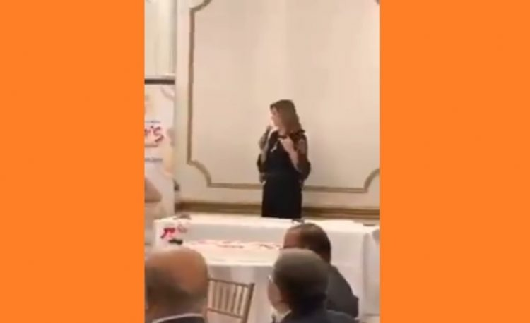 """""""شاهد"""" في فيديو مسرب.. وزيرة مصرية تهدد معارضي النظام بــ""""النحر"""""""