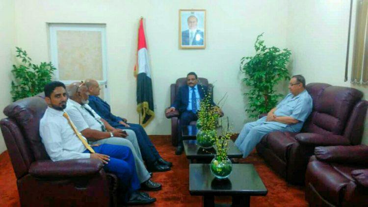 عدن.. الجبواني يناقش مع إدارة طيران بلقيس استعدادها لتدشين الخطوط الجديدة
