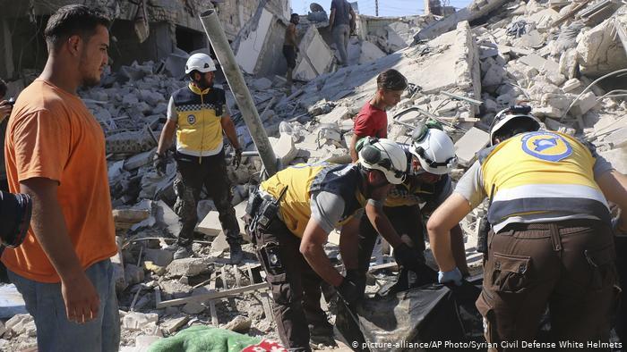 النظام السوري يقصف المدنيين في ظل صمت دولي مخزي