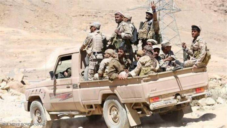 الجيش الوطني يحرز تقدم جديد شمال الضالع ويسيطر على مواقع جديدة