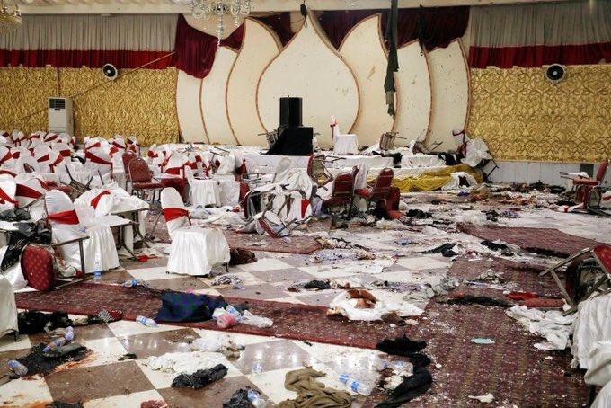 انتحاري يستهدف حفل زفاف بأفغانستان بتفجير نفسه ويقتل 63 شخصاً بينهم أطفال