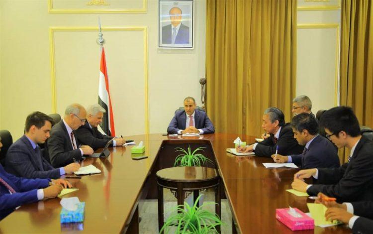 اليمن تلتقي سفراء الدول دائمة العضوية في مجلس الأمن لبحث تمرد الإنتقالي المدعوم إماراتيا